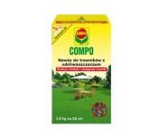 Compo do trawników z odchwaszczaczem 1,5 kg