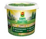 Compo nawóz do trawników quattro 4 w 1 4,5 kg