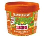 """SUBSTRAL-Nawóz """"100 dni"""" - jesienny do trawnika 5kg"""