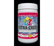 Extra Chlor granulat do zwalczania glonów bakterii i grzybów w basenach 1kg