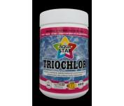 TrioChlor tabletki o działaniu bakteriobójczym przeznaczone do długotrwałej dezynfekcji wody basenowej 1kg