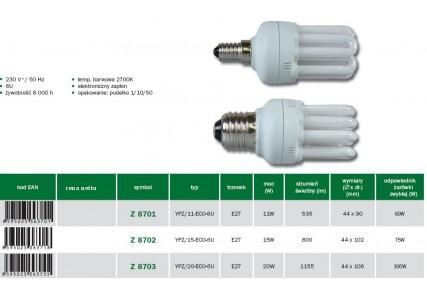 Emos żarówka energo 6U E27 20W