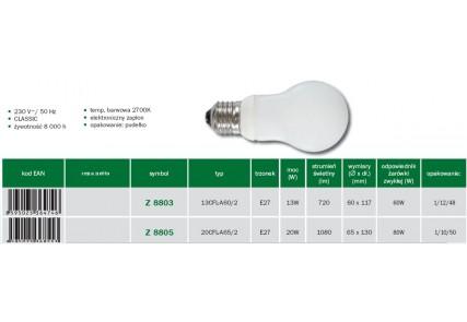 Emos żarówka energo Classic E27 13W