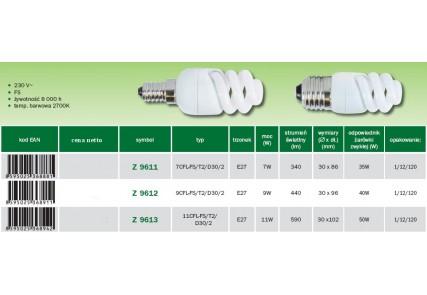 Emos żarówka energo FS T2 E27 11W